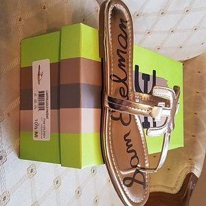 Gold sandal Brand New